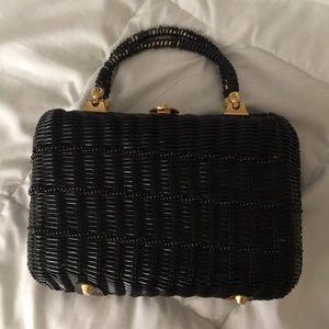 Vintage wicker bag